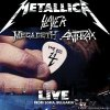 Metallica, Slayer, Megadeth, Anthrax - The Big 4 Live in Sofia 2010 (2010) [FLAC (image + .cue)]