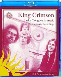 King Crimson - Larks' Tongues In Aspic / The Complete Recordings (40th Anniversary Series) (Limited Edition) (Box Set) (1973/2012) [Blu-Ray Audio](кликните для просмотра полного изображения)