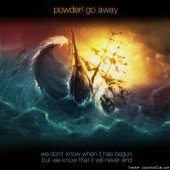powder! go away - we don't know when it has begun, but we know that it will never end (2012) [FLAC (tracks)]