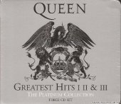 Queen - The Platinum Collection (Greatest Hits I, II & III) (2011) [FLAC (tracks + .cue)]
