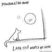 powder! go away - laika still wants go home (2011) [FLAC (tracks)]