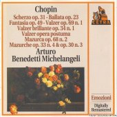 Frederic Chopin - Selected Pieces By Arturo Benedetti Michelangeli (1994) [FLAC (image + .cue)]