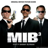 Danny Elfman - Men in Black III / Люди в черном 3 (2012) [FLAC (tracks + .cue)]